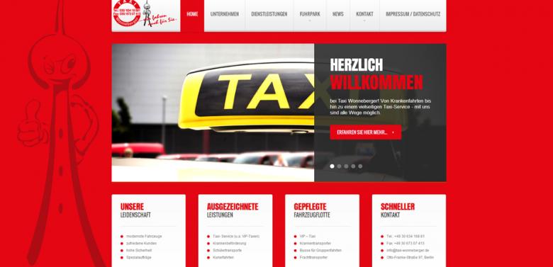 Unsere Webseite in einem frischen Gewand